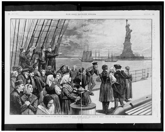 a history of the immigration of jews into the united states of america By the time the united nations agreed to split palestine into jewish and arab states, a very well ordered and lively jewish society had been created there arab-jewish refugees when war broke out between israel and the arab states in 1948, many of the jews living in arab countries fled to israel under threat of persecution and a desire to.